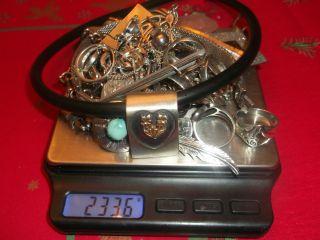 Silber Konvolut 233,  6 G 925er,  U 2 Oder 3 835er U 800er Silberteile Bild
