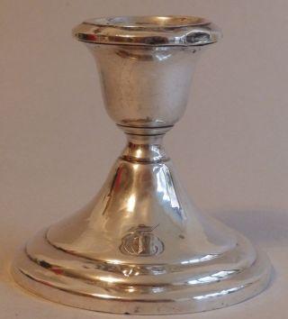Silberleuchter Sterling Silber Kerzenleuchter Bruchsilber Bild