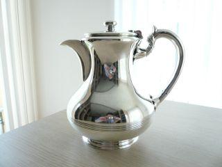 ♛ Klassische Englische Silber Teekanne
