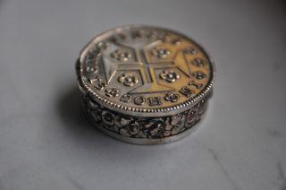 Antikes Silberdöschen Bild
