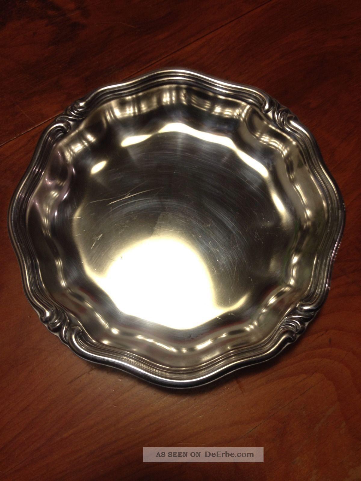 Silber Wmf 2200 Servierschale / Obstschale Versilbert Objekte ab 1945 Bild