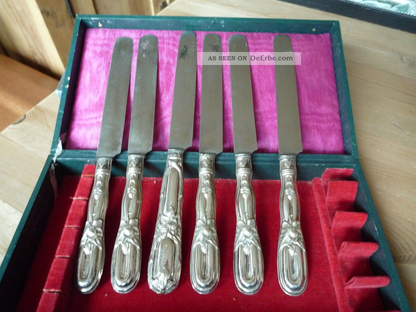 6 Christofel Dessertmesser,  Vorlegemesser,  Messer,  Marly ?? Objekte ab 1945 Bild