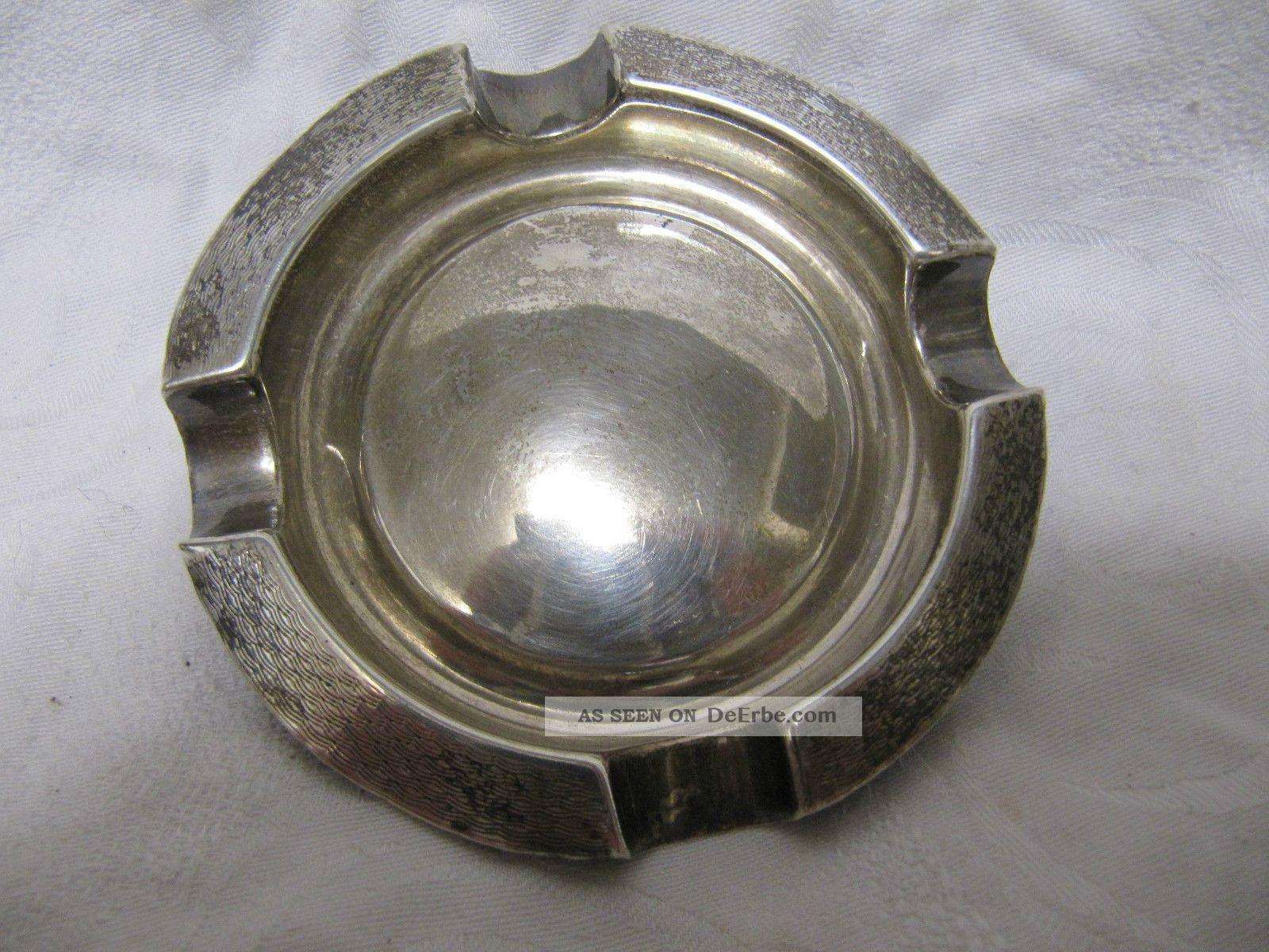 Silberascher Birmingham Chester 38 G Um 1920 - 30 Objekte vor 1945 Bild