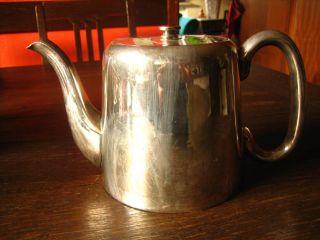 Zeitlose Britische Teekanne Kaffeekanne Silberkanne Silber Pl Sheffield Bild