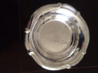 Wmf Silberschale Hammerschlag Art Deco Ca 24 Cm Durchmesser Bild