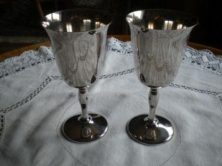 Wein Kelch Silber Bild