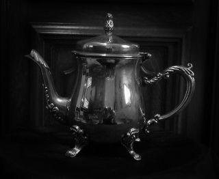 Altes Kaffee Od.  Tee Silberkännchen Bild