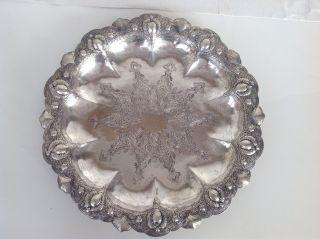 Silberschale Um1900 Silber925er Toll Verziert Gewicht 390 Gramm Bild