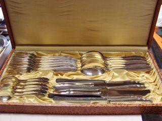 Schönes,  Klassisches Bruckmann Menuebesteck In 800 Silber,  24 Teile,  = 1440 G Bild