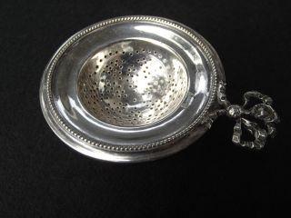 Teesieb 800ter Silber Gestempelt Mit Krone Ca.  100 Jahre Alt Sehr Gut Erhalten Bild