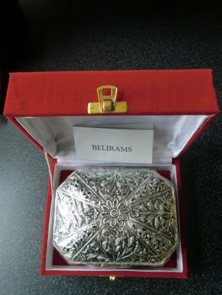 Silberdose Schmuckdose Silver Plated Schwer Versilbert Aus Indien Bild