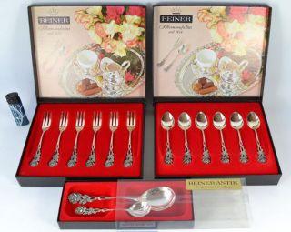 Besteck Rose Versilbert 100 Reiner Dessert Cutlery Postre Cubertería Bild