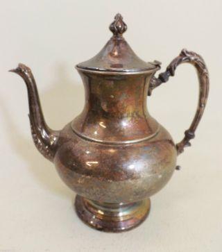 Kaffeekanne,  Versilbert Ca.  1930 - Usa - Große Kanne,  Schön Verziert Bild