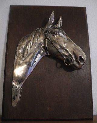 Wandbild Pferd Pferdenkopf Skulptur Hb Bild