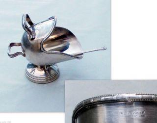 Zuckerschale Punze Silver Plated England Jugendstil Viktorianisch Adelsbesitz Bild