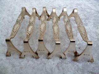 6 Wunderschöne Messerbänke - Messerbänkchen - 90 Er Silber Auflage (weitere Vor Bild