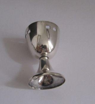 Wmf Jugendstil Eierbecher Straußenmarke Silberauflage Bild