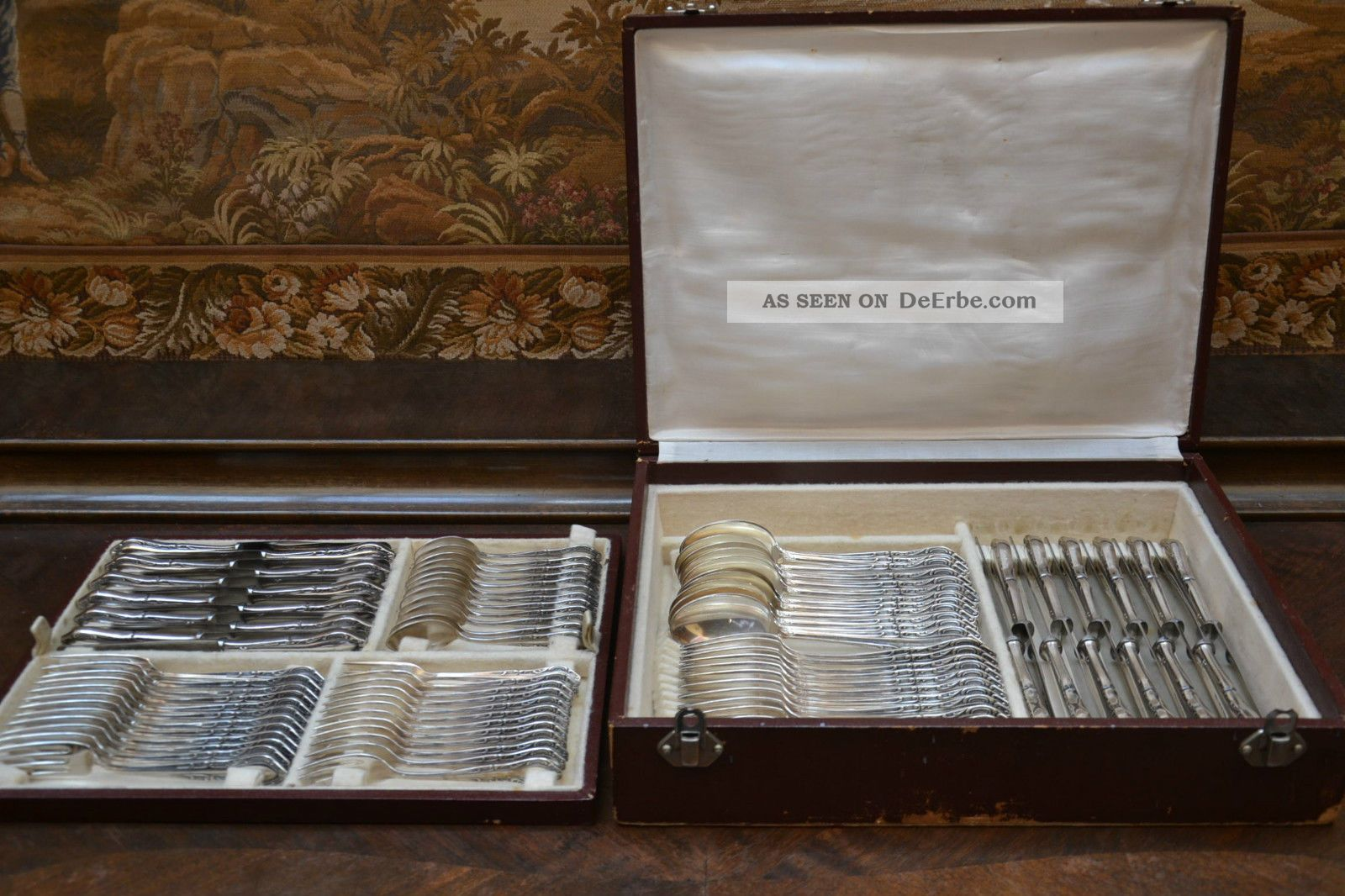 Silber besteck art deco 1925 wappen solingen for Wanddeko besteck silber