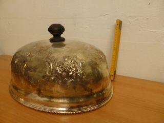 Xl WÄrme Glocke Haube Bell 1920 Für Weinachts Gans/ente SchÖn Verziert Edel Bild