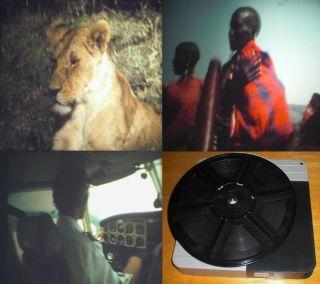 8 Privatfilm 1973 Kenia Safari Big 5 Masai Sonnenfinsternis Flug Tauchen Bild