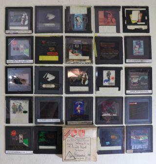 Fotoplatten,  Antik,  Koloriert,  24 Kino - Werbeplatten Aus Den 40 - 50er Jahren,  Rarität Bild