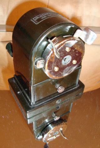 Spitzmaschine Bleistiftanspitzer Faber - Castell 52/14 Vintage Pencil Sharpener Bild
