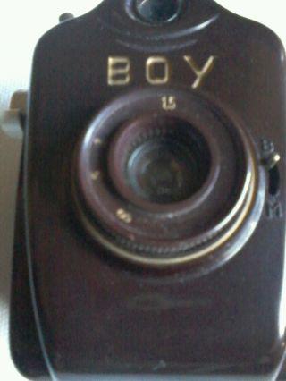 Bilora Boy Rollfilmkamera Ca.  1953 Bild