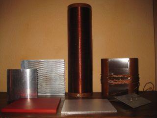 Labor Geräte Zubehör Teile Lehrmittel Leybold Phywe ? Schule Physik Alt Konvolut Bild