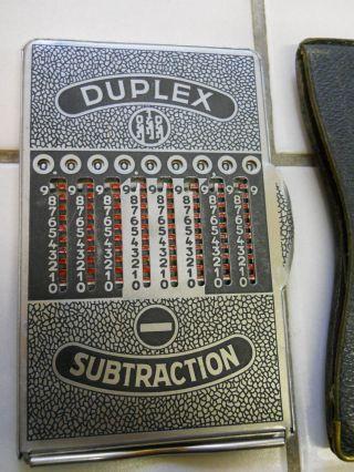 Rechenschieber Rechengerät Duplex Rechenmaschine Antik Bild