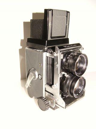 Zweiäugige Spiegelreflex Kamera Format 6x6 Mamiya Professional Bild
