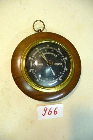 Nr.  966.  Altes Barometer Wetterstation Bild