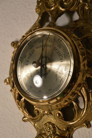 Barometer Hygrometer Thermometer Wetterstation Neuwertig Aus Geschäftsauflösung Bild
