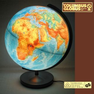Columbus Globus Duplex Leuchtglobus 403441 Tischglobus D = 34 Cm Bild