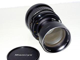 , Mamiya Sekor C,  Teleobjektiv F=250mm 1:4,  5 Für Die Rb67 Mittelformatkamera, Bild