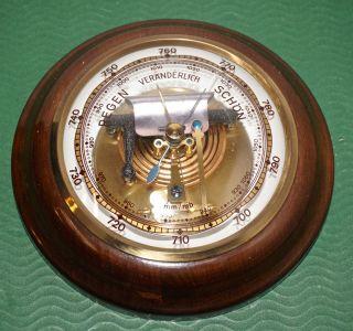 Altes Seltenes Barometer Von Lufft Bild