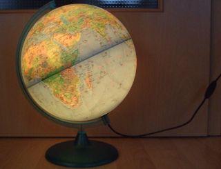 Wie Globus Mit Beleuchtung Lampe Leuchte Erdkugel Erdball 30 Cm Kinderzimmer Bild