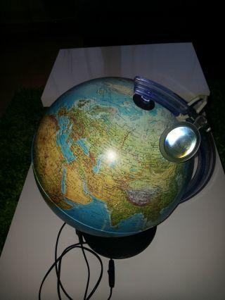 Beleuchteter Globus,  Tischglobus,  Weltkugel Bild
