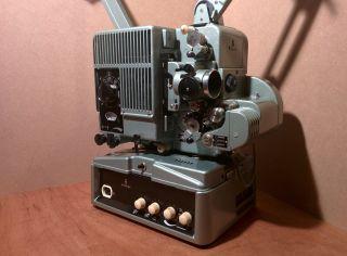 Siemens 2000 16mm Filmprojektor Mit Röhrenverstärker Magentton Funktionsfähig Bild