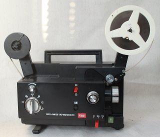 8 Mm Projektor Elmo K - 100 Sm Bild