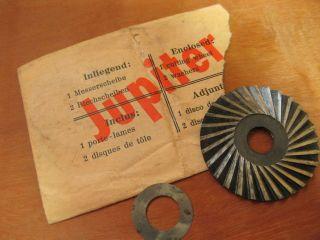 Ersatzfräser Jupiter Bleistiftanspitzer Guhl & Harbeck Pencil Sharpener Top Bild