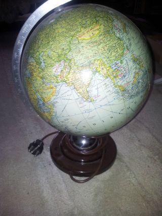Jro Globus Aus Glas Mit Beleuchtung Bild