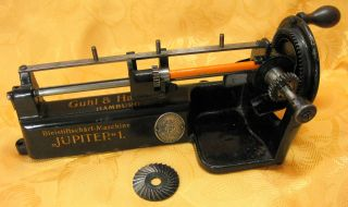 Jupiter 1 Bleistiftanspitzer Guhl & Harbeck Spitzmaschine Pencil Sharpener Top Bild