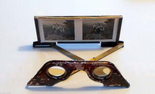 Stereoskop Stereobetrachter Raumbild Verlag Otto Schönstein Ca 1940 Adelsnachlaß Bild