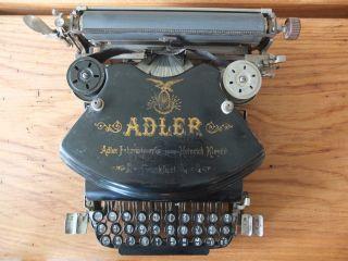 Antike Alte Schreibmaschiene Adler No 7 Bild