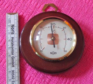 Sundothermometer Wetterstation Antik Bild