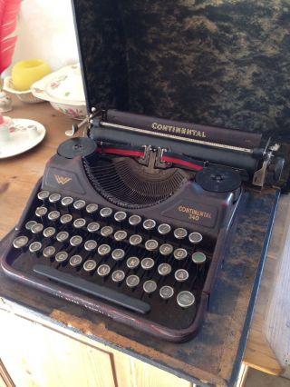 Continental Schreibmaschine Bild
