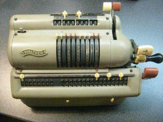 Mechanische Rechenmaschine Walther Wsr 160 - Top Weihanchtsgeschenk Bild