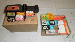 Konvolut Filme,  Analog Perutz Kodak Orwo Agfacolor Pocket,  Und Sechs Negative Bild