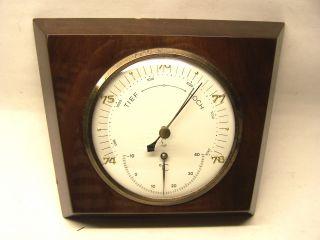 Alte Lufft Wetterstation - Barometer - Thermometer Bild