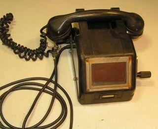 Altes Bakelit Telefon Bild
